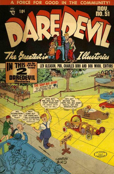 Cover for Daredevil Comics (Lev Gleason, 1941 series) #51
