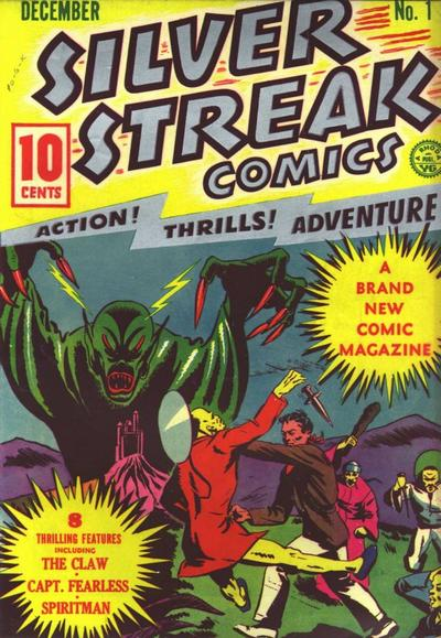 Cover for Silver Streak Comics (Lev Gleason, 1939 series) #1