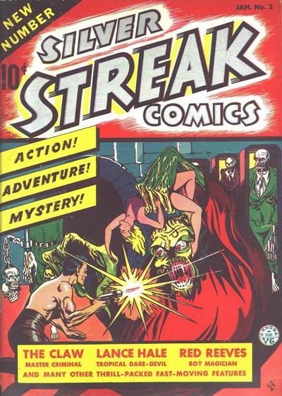 Cover for Silver Streak Comics (Lev Gleason, 1939 series) #2