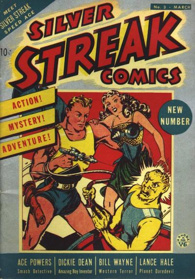 Cover for Silver Streak Comics (Lev Gleason, 1939 series) #3