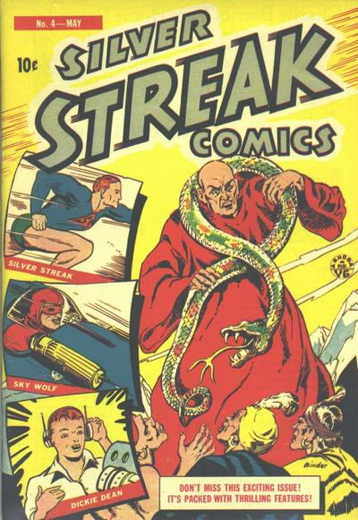 Cover for Silver Streak Comics (Lev Gleason, 1939 series) #4