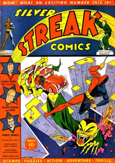 Cover for Silver Streak Comics (Lev Gleason, 1939 series) #8