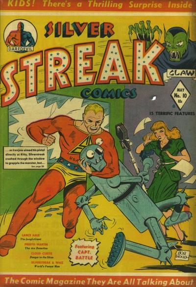 Cover for Silver Streak Comics (Lev Gleason, 1939 series) #10