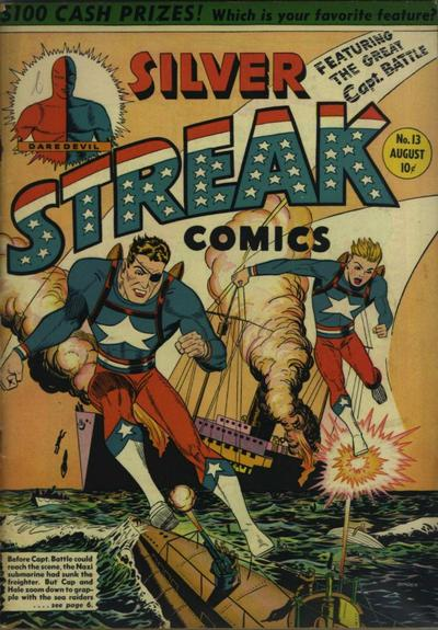 Cover for Silver Streak Comics (Lev Gleason, 1939 series) #13