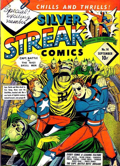 Cover for Silver Streak Comics (Lev Gleason, 1939 series) #14