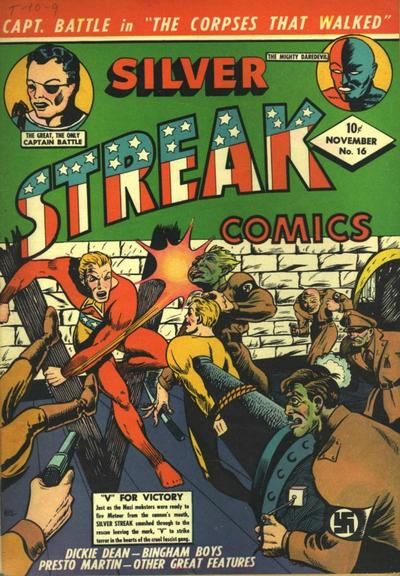 Cover for Silver Streak Comics (Lev Gleason, 1939 series) #16