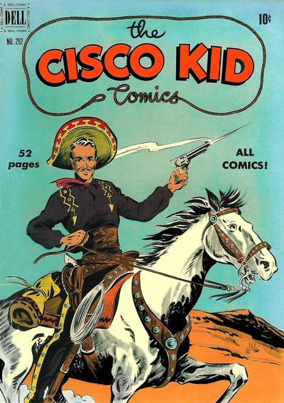 Cover for Four Color (Dell, 1942 series) #292 - Cisco Kid Comics