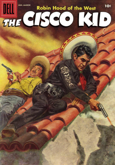 Cover for The Cisco Kid (Dell, 1951 series) #34