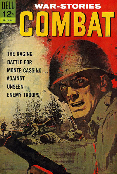 Cover for Combat (Dell, 1961 series) #8 [b]