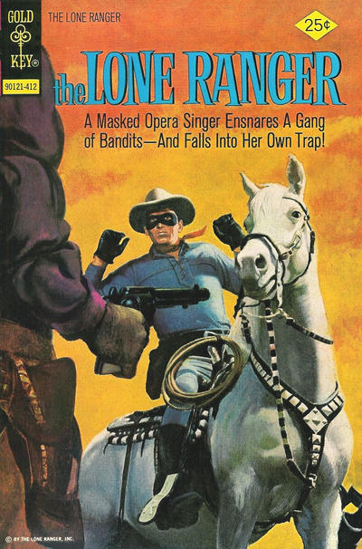 Cover for The Lone Ranger (Western, 1964 series) #19 [Whitman Variant]