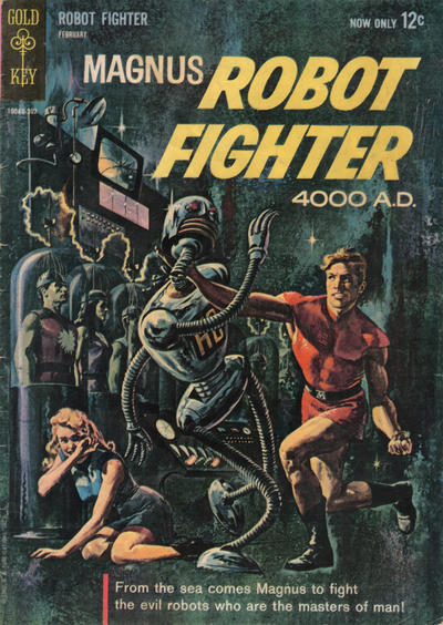 Cover for Magnus, Robot Fighter (Western, 1963 series) #1