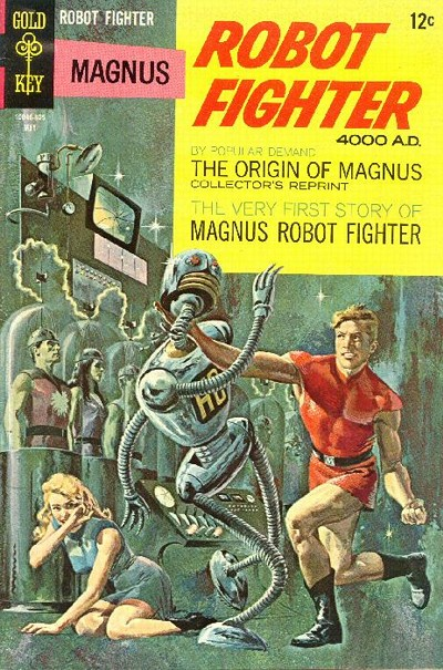 Cover for Magnus, Robot Fighter (Western, 1963 series) #22 [12¢]