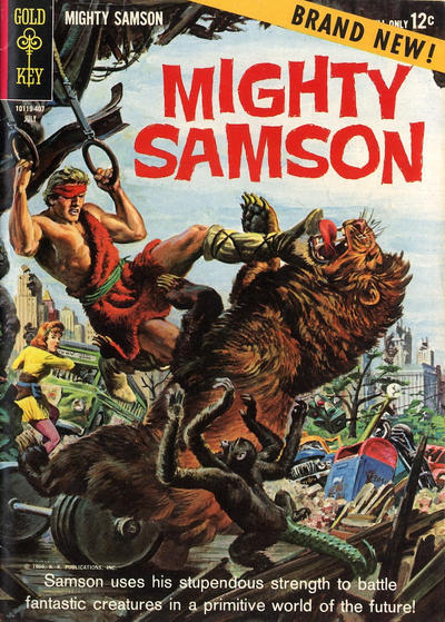 Cover for Mighty Samson (Western, 1964 series) #1