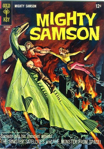 Cover for Mighty Samson (Western, 1964 series) #6