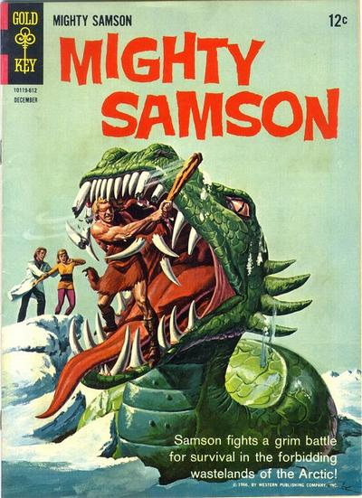 Cover for Mighty Samson (Western, 1964 series) #8