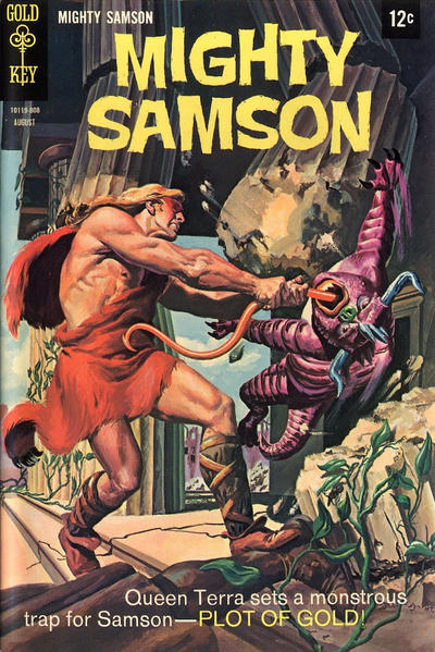 Cover for Mighty Samson (Western, 1964 series) #15