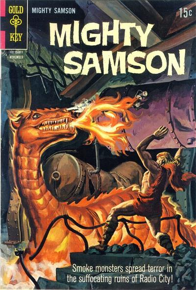 Cover for Mighty Samson (Western, 1964 series) #16