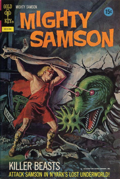 Cover for Mighty Samson (Western, 1964 series) #21