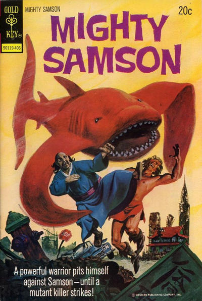 Cover for Mighty Samson (Western, 1964 series) #24 [Gold Key]