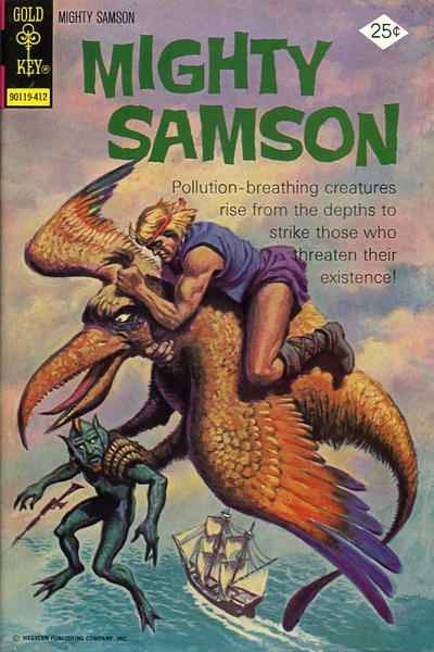 Cover for Mighty Samson (Western, 1964 series) #26 [Whitman Variant]