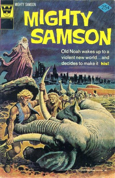 Cover for Mighty Samson (Western, 1964 series) #27 [Whitman Variant]