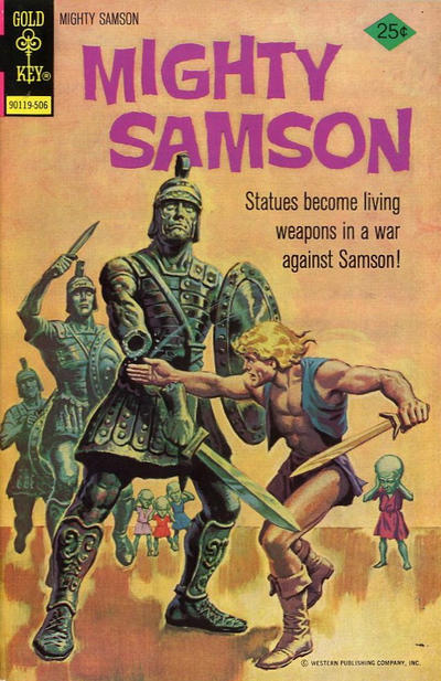 Cover for Mighty Samson (Western, 1964 series) #28