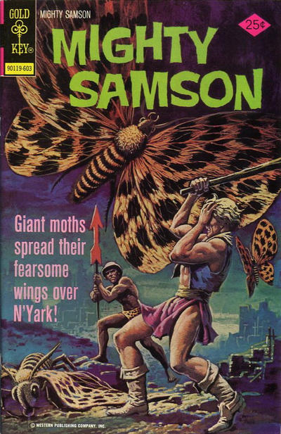 Cover for Mighty Samson (Western, 1964 series) #31 [Whitman cover]