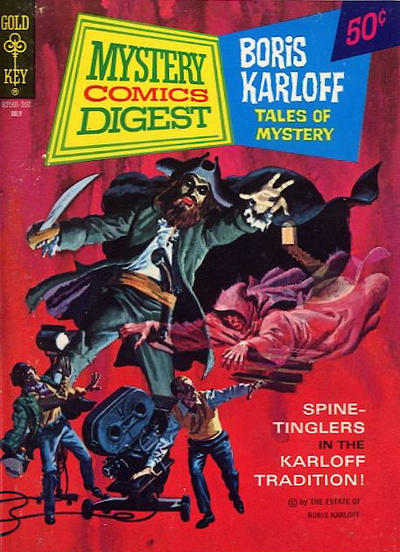 Cover for Mystery Comics Digest (Western, 1972 series) #5