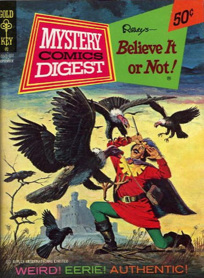 Cover for Mystery Comics Digest (Western, 1972 series) #7