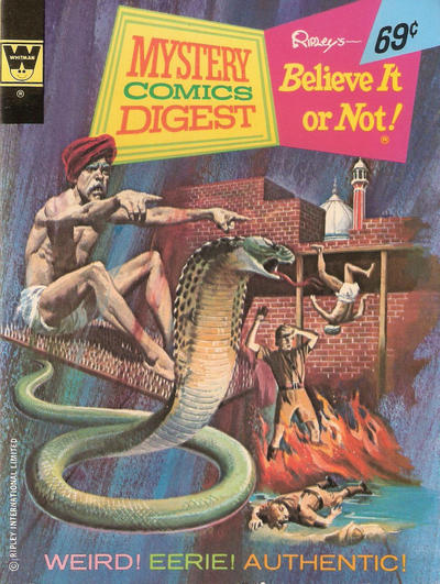 Cover for Mystery Comics Digest (Western, 1972 series) #13 [Gold Key]