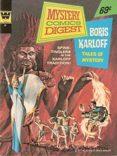Cover for Mystery Comics Digest (Western, 1972 series) #14 [Whitman]