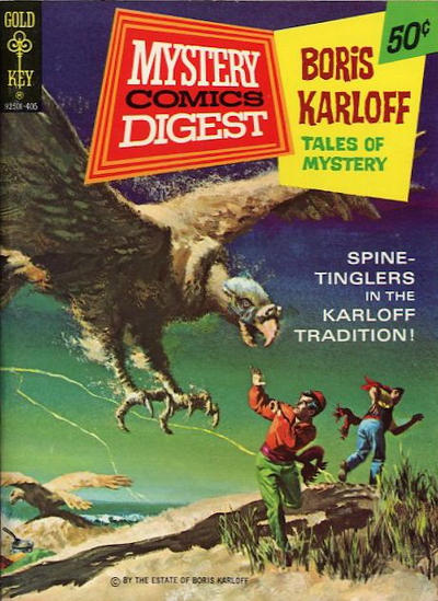 Cover for Mystery Comics Digest (Western, 1972 series) #17