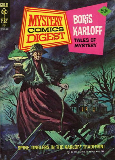 Cover for Mystery Comics Digest (Western, 1972 series) #20