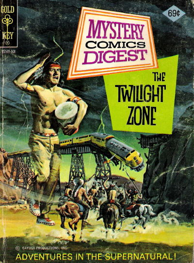 Cover for Mystery Comics Digest (Western, 1972 series) #21