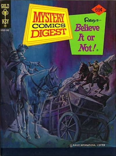 Cover for Mystery Comics Digest (Western, 1972 series) #22