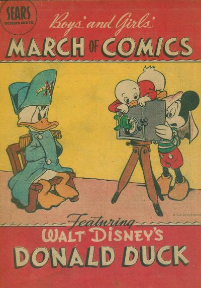 Cover for Boys' and Girls' March of Comics (Western, 1946 series) #[4] [No logo]