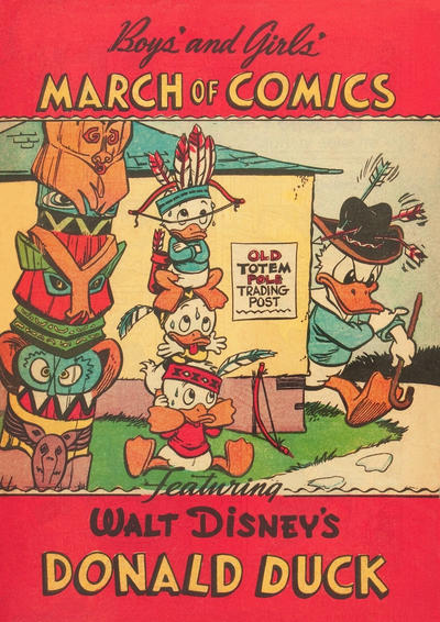 Cover for Boys' and Girls' March of Comics (Western, 1946 series) #69 [Boys' and Girls' Variant]