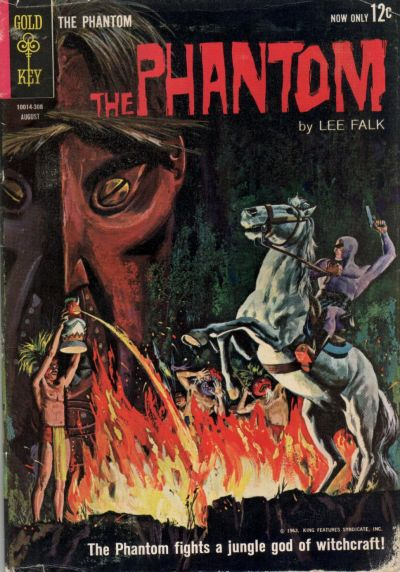 Cover for The Phantom (Western, 1962 series) #4