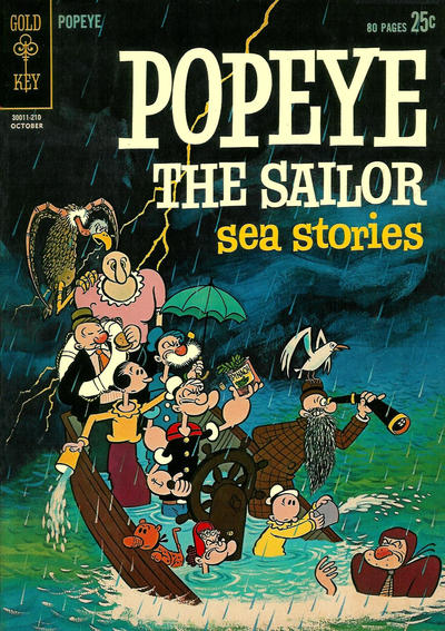Cover for Popeye the Sailor (Western, 1962 series) #66