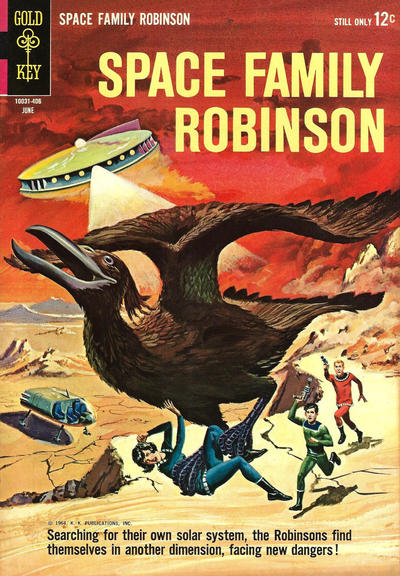 Cover for Space Family Robinson (Western, 1962 series) #8