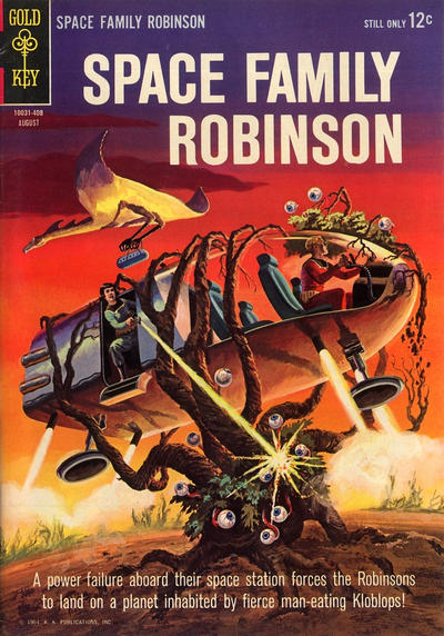 Cover for Space Family Robinson (Western, 1962 series) #9