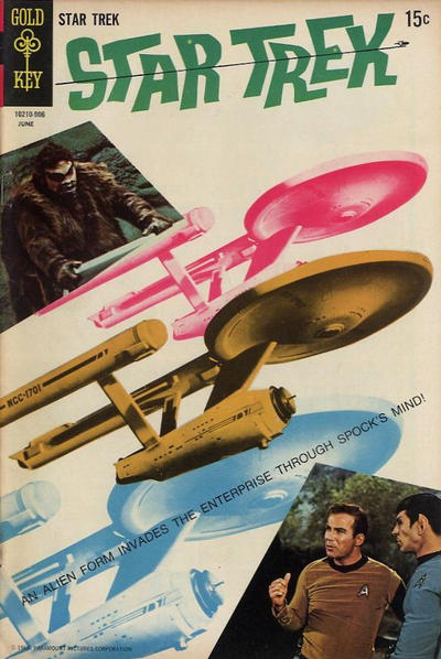 Cover for Star Trek (Western, 1967 series) #4