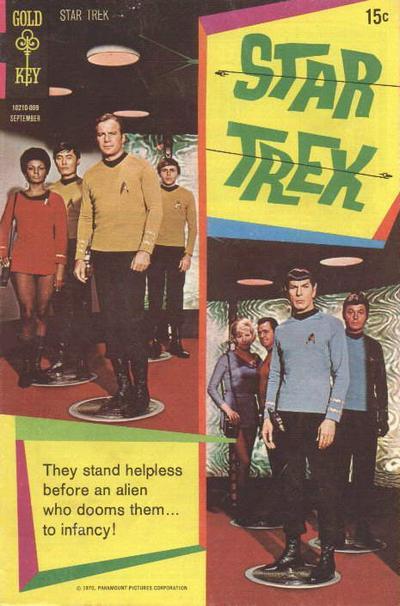 Cover for Star Trek (Western, 1967 series) #8