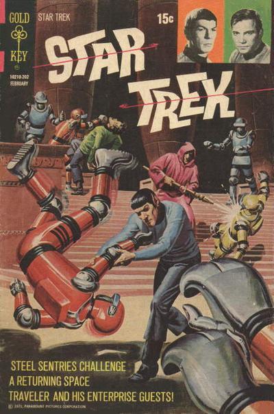 Cover for Star Trek (Western, 1967 series) #13