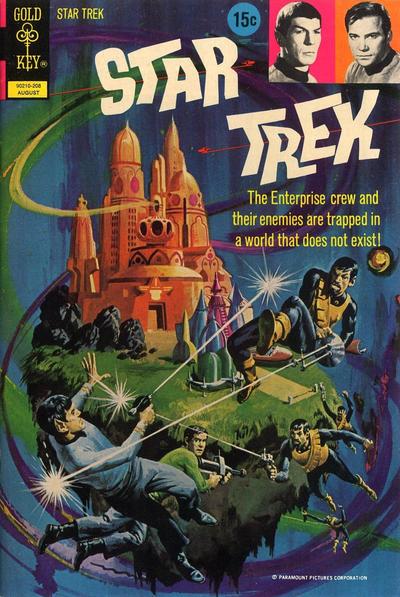 Cover for Star Trek (Western, 1967 series) #15