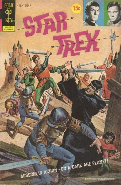 Cover for Star Trek (Western, 1967 series) #16
