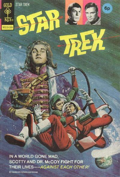 Cover for Star Trek (Western, 1967 series) #20