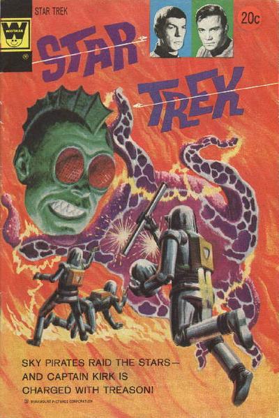 Cover for Star Trek (Western, 1967 series) #24 [Whitman Variant]
