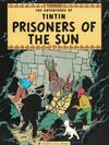 Cover for The Adventures of Tintin (Little, Brown, 1974 series) #[11] - Prisoners of the Sun