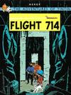 Cover for The Adventures of Tintin (Little, Brown, 1974 series) #[9] - Flight 714